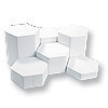 Faux Leather Riser 6pc White