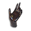 Jewelry Hand Display 6 Inches Black
