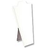 "Necklace Display Stand 8 7/8""H White"
