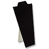 "Necklace Display Stand 8 7/8""H Black Velvet"