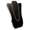 "Necklace Display Stand 14""H Black Velvet"