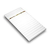 Bracelet Display Pad Insert with Ribs White