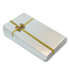 Bow-tie Small Combo Box Silver (Dozen)