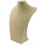 "Burlap Neckform 18"" Tall"