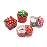 Mini Hat Boxes - Assorted Colors (Package of 48)