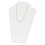 Necklace Board 2 Chains White