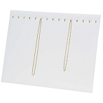 Chain Board 15 Hooks White