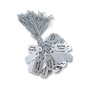 Sterling Silver String Tags (100pcs)