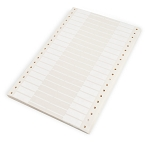 Computer Price Tags White (1000pcs)