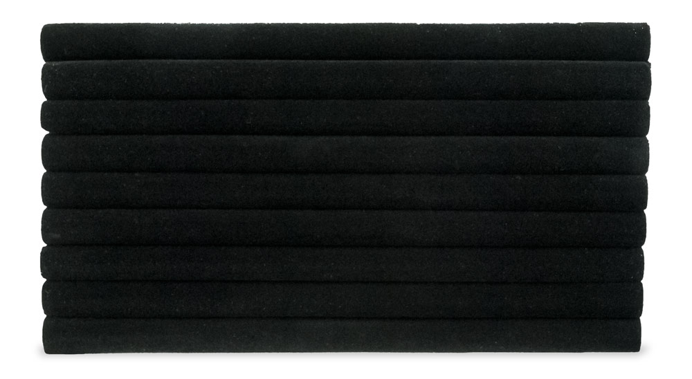 Black Foam Standard Size Multi Slot Ring Pad Insert