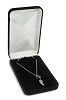 Necklace Box Velvet Black