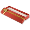 Bow Tie Bracelet Box - Red (Dozen)