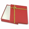 Bow Tie Large Necklace Box - Red (Dozen)