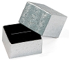 Square Ring Box - Silver
