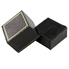 Leatherette Ring Box Black