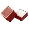 Leatherette Ring Box Red