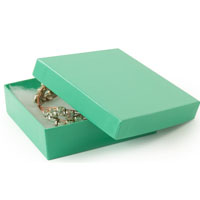 Glossy Teal Boxes