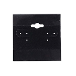 "Hanging Earring Cards Black 2""x2"" (Package of 100)"