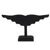 Earring Display Stand Black (Holds 10 Pairs)