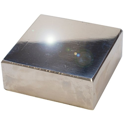 2 Inch Polished Steel Bench Block