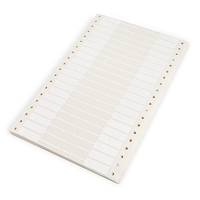 Computer Price Tags White (Pack of 1,000)