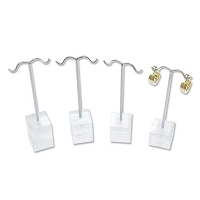 Acrylic Earring Tree 4pc. Set