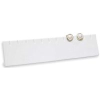 Earring Display Bar White