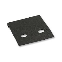 Clip Earring Card 2x2 Black (100pcs)