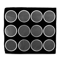 Gem Jar Insert 12 Cups Black
