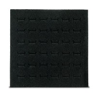 Foam Ring Pad Half Size Black