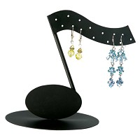 Single Music Note Earring Display Rack