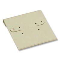 Earring Card 2x2 Parchment (100pcs)