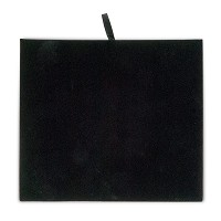 Black Velvet 1/2 Size Jewelry Display Pad