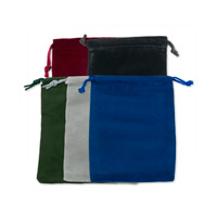 Velvet Drawstring Pouch Assortment 3x4 (Pack of 10)