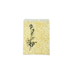 Paper Jewelry Bags 4 x 6 Gold Print (100-Pcs)