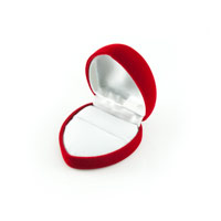 Small Heart Shaped Ring Box