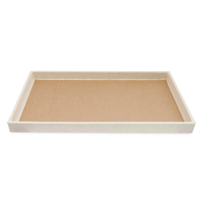 Jewelry Tray 1 Quot Deep Linen