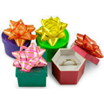Mini Hat Boxes (Ring Boxes)
