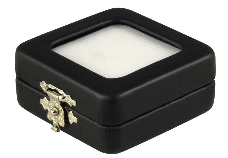 Glass Top Gem Box 2 x 214 x 1