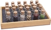 Seed Bead Tray With 20 Bottles