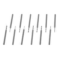 12 Piece 3/32 Shank Jewelry Drill Set