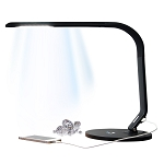 Black Horizon LED Lighted Grading Lamp