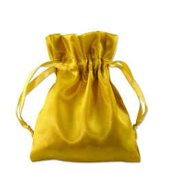 Satin Pouch 3 x 4 Gold (10pcs)