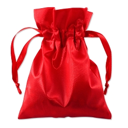 Satin Pouch 4 x 5.5 Red (10pcs)
