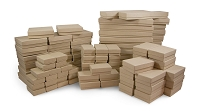 Jewelry Boxes Assortment Kraft (Case of 100)