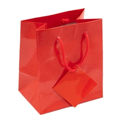 Tote Bag 4x4 Glossy Red (20-Pcs)