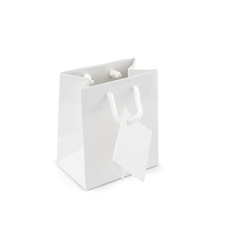 Tote Bag 3x3 Glossy White (20-Pcs)
