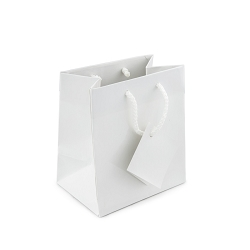 Tote Bag 4x4 Glossy White (20-Pcs)