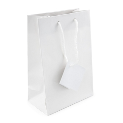 Tote Bag 4x6 Glossy White (20-Pcs)