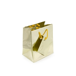 Tote Bag 3x3 Metallic Gold (20-Pcs)